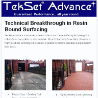 Technical Breakthrough in Resin Bound Surfacing