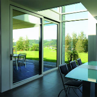 New Janisol Lift-and-Slide door delivers maximum glass area, narrow sight-lines and excellent thermal values