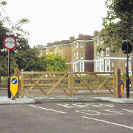 Emergency Gates at Blackheath