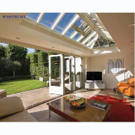 Contemporary Folding Door System in East Sussex