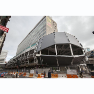 Steel cladding project begins at Birmingham New Street