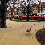 Ronacrete's RonaDeck Resin Bound Surfacing laid at Shepherd's Bush
