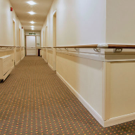 Gerflor provides protection in healthcare and care homes environments