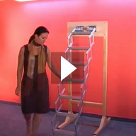 Video: The Piccalo Loft Ladder