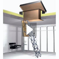 Video: The Supreme Loft Ladder with Weatherproof Hatch