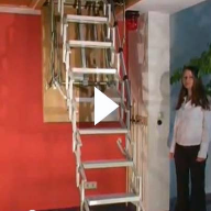 Video: The Supreme Loft Ladder with Electric Operation