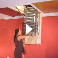 Video: The Supreme ISO Loft Ladder