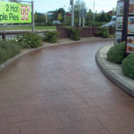 Adseal Heavy Duty concrete sealer used at McDonalds, Leeds