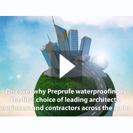 Preprufe® Video: World Leading Waterproofing Membrane