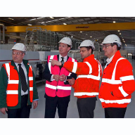 Minister gives seal of approval to £36m NSG Group green glass investment