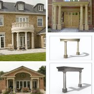 New range of cast stone porticos to be shown at Ecobuild