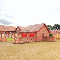 Period barns converted to residential homes