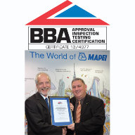 Mapei celebrate BBA certification