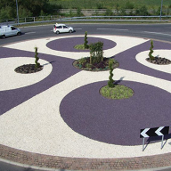 EverEdge Landscape Edging Transforms Rushyford Roundabout