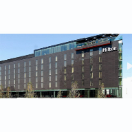 Architectural glazing systems used at Wembley Hilton Hotel, London
