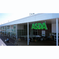 Curtain walling used at Asda, Poole