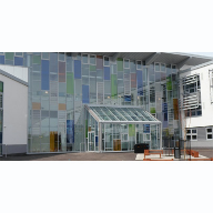 Aluminium windows for Dunfermline High School