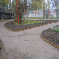 Custom EverEdge Landscape Edging Specified In Norwegian Landscape Project