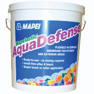 Mapei's Mapelastic AquaDefense now available in handy 7.5kg bucket