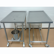 Stainless steel dissection tables for University of Liverpool Veterinary Department