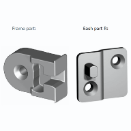 New Spilka hinge for top hung windows