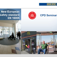 GEZE UK first to launch RIBA approved CPD on new EN 16005