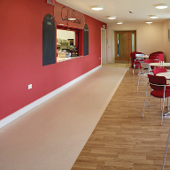 Polyflor floor coverings feature in Bury's new hospice development