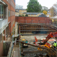 New build underground car park waterproofed to BS 8102 2009 standard
