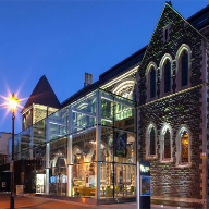 Glass gives new life to historic Welsh theatre