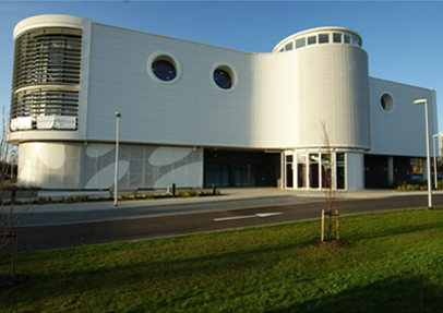 Integr8 security shutters specified at Eastpoint Community Centre