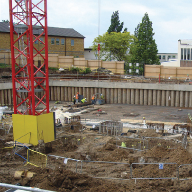 Watertight concrete system for Goldsmiths, University Of London