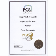 Newton Specialist Basement Contractor Trace Basements Wins Project of the Year Award at Property Care Association (PCA) Ceremony