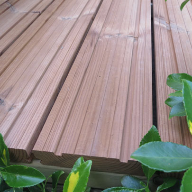 Hoppings Launches New Thermowood Decking: Q-Deck Lunawood