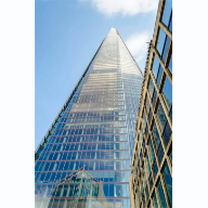 Lignacite blocks help The Shard with its green credentials