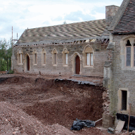 Triton ground gas barrier systems protect almshouses from landfill gas