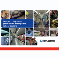 New 'Section 12' registered products brochure from Ronacrete
