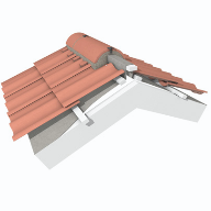 Marley launches mechanical fixing system for mortar bedded tiles