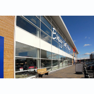 Metal Technology's curtain walling system used at Tesco