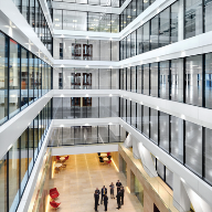 CONTRAFLAM® provides fire safety assurance in iconic building's new atrium