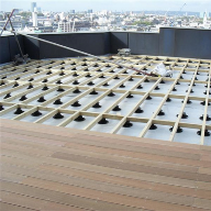 Decking Support Pads For London Office Development