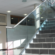Sapphire Balustrades provides staircase balustrades for new education facility in Surrey