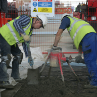 Ronacrete fast drying screed keeps things moving at Heathrow Terminal 2