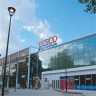 Comar Architectural Aluminium Systems Tesco Superstore, London E4
