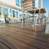 JB non slip decking specified at Hilton Garden Inn