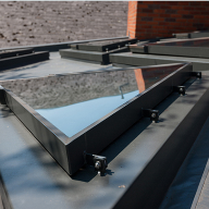 Bespoke Triangular Rooflights For Beccles Health Centre, Suffolk