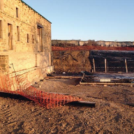 Below ground waterproofing from Triton Systems for new build farmhouse