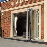 Alco Glass provides Berkeley Homes with sliding folding door solution