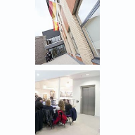 Two BSF senior schools in Broadstairs specify Stannah Maxilift MRLi passenger lifts