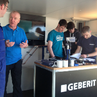 On the road again as Geberit systems and solutions go On Tour