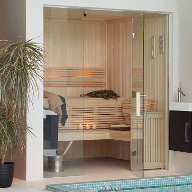 Bespoke sauna room for family residence